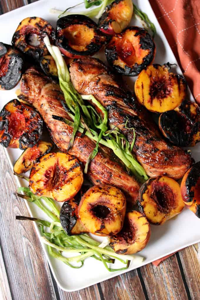 Honey Ginger Glazed Pork Tenderloin | Melanie Makes