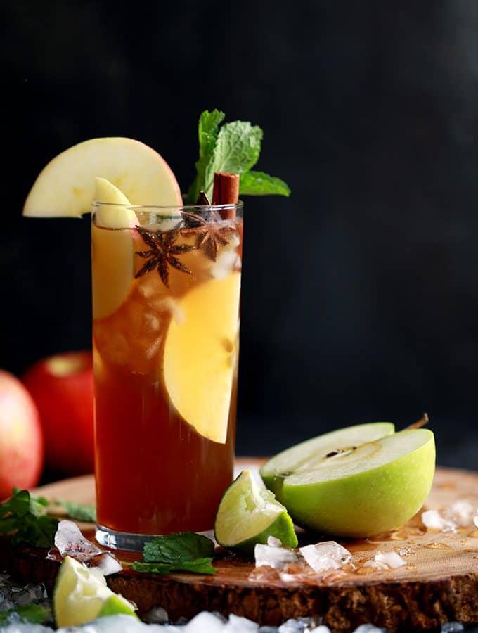 Apple Cider Mojito | Melanie Makes