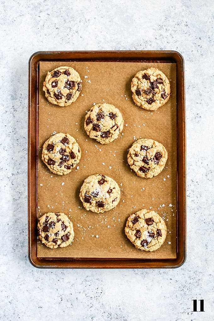 How to prepare Salted Chocolate Chunk Cookies, step 11.